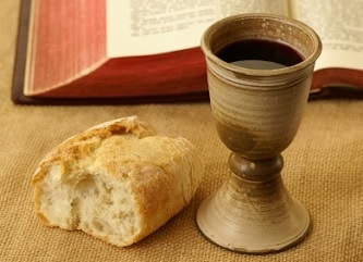 Bible, Bread, Cup, Lords Supper,