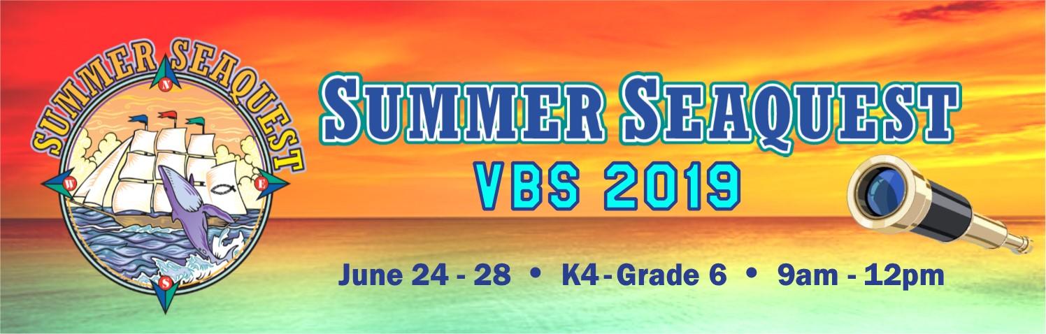 VBS 2019 - Summer Seaquest! | Fellowship Presbyterian Church
